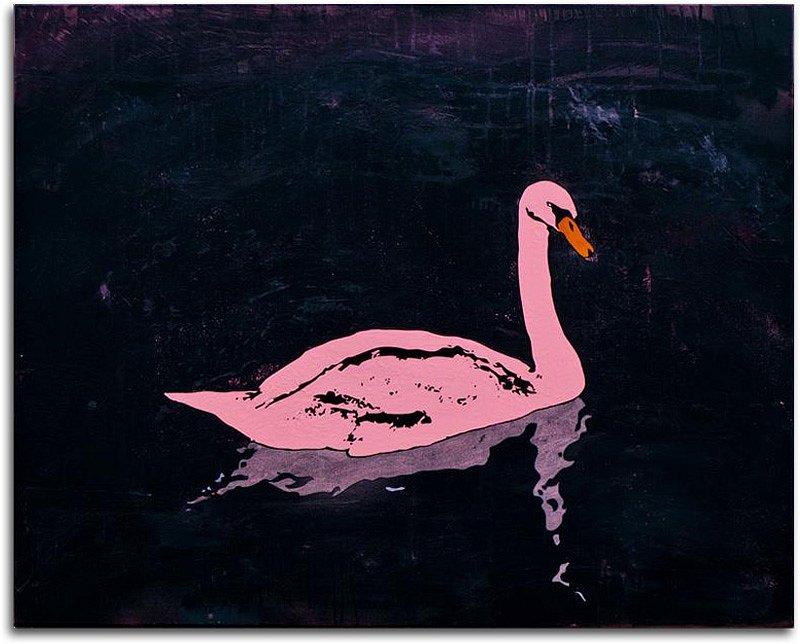 Pink Swan No. 1