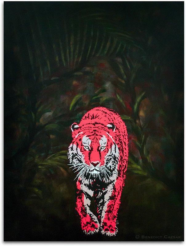 Red Tiger's Eyes